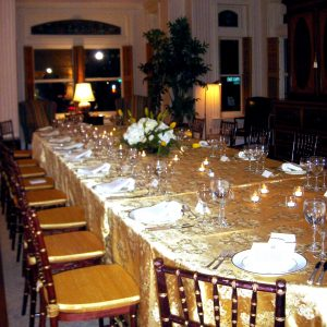 Seated dinner or conference-style for 20, First Floor