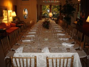 Seated dinner or conference-style for 24, First Floor